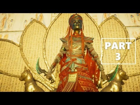 """""""THE LADY OF GRACE"""" - Assassin's Creed Origins DLC The Curse of the Pharaoh PART 3"""