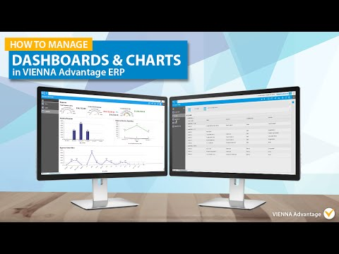 How to manage Dashboards and Charts in VIENNA Advantage ERP