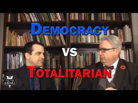 Democracy vs Totalitarian Govt., From YouTubeVideos