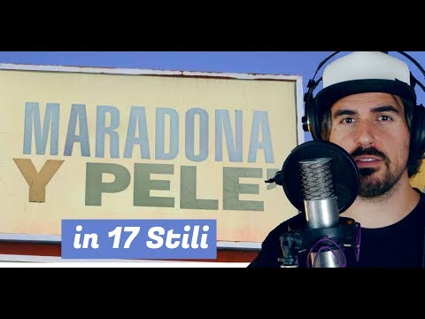 Maradona y Pelè in 17 STILI  |  Thegiornalisti COVER