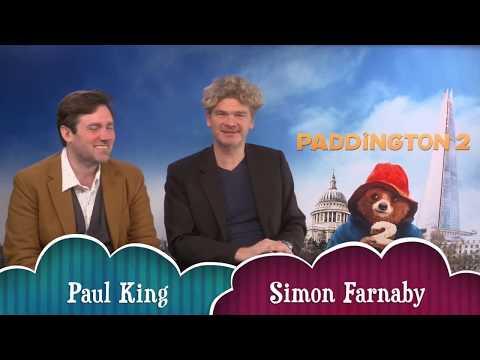 Paddington 2 hilarious chat with Simon Farnaby & Paul King