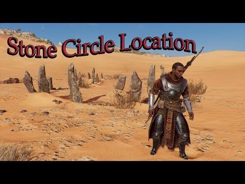 Stone Circles Locations in Assassin creed origin