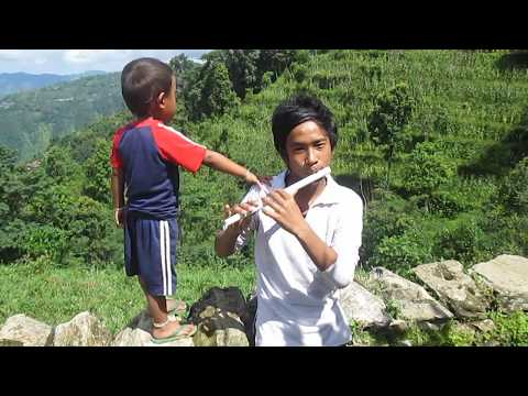 mitho basuri ko dhun (nepali flute play)
