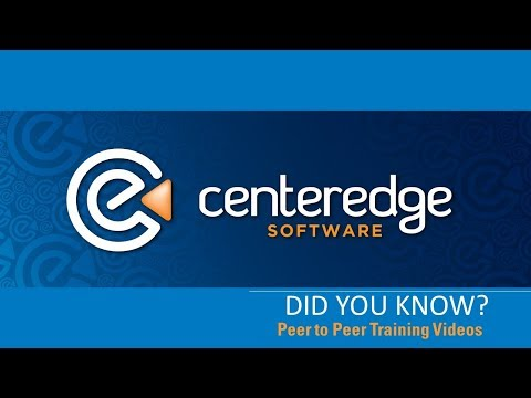 CenterEdge Did You Know? Unleash Creativity with Peer to Peer Training Videos