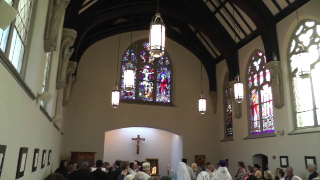 Panikhida Memorial Service At Corr Chapel Villanova University