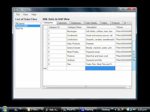 Adding, Editing And Deleting Data In An XML File Using XML Viewer