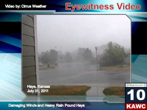 Heavy Rains and Damaging Winds Pound Hays,...