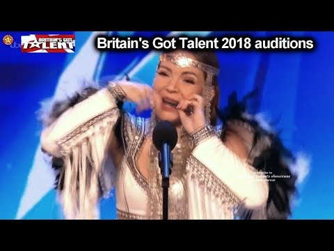 Olena Uutai Makes Strange Beautiful Noises like Horse Auditions Britain's Got Talent 2018 BGT