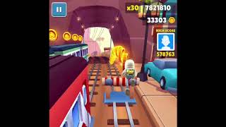 Over 10 MILLION POINTS On Subway Surfers (No hacks or Cheats)