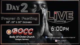 3DAYS FASTING & PRAYER (BODY OF CHRIST CHURCH)