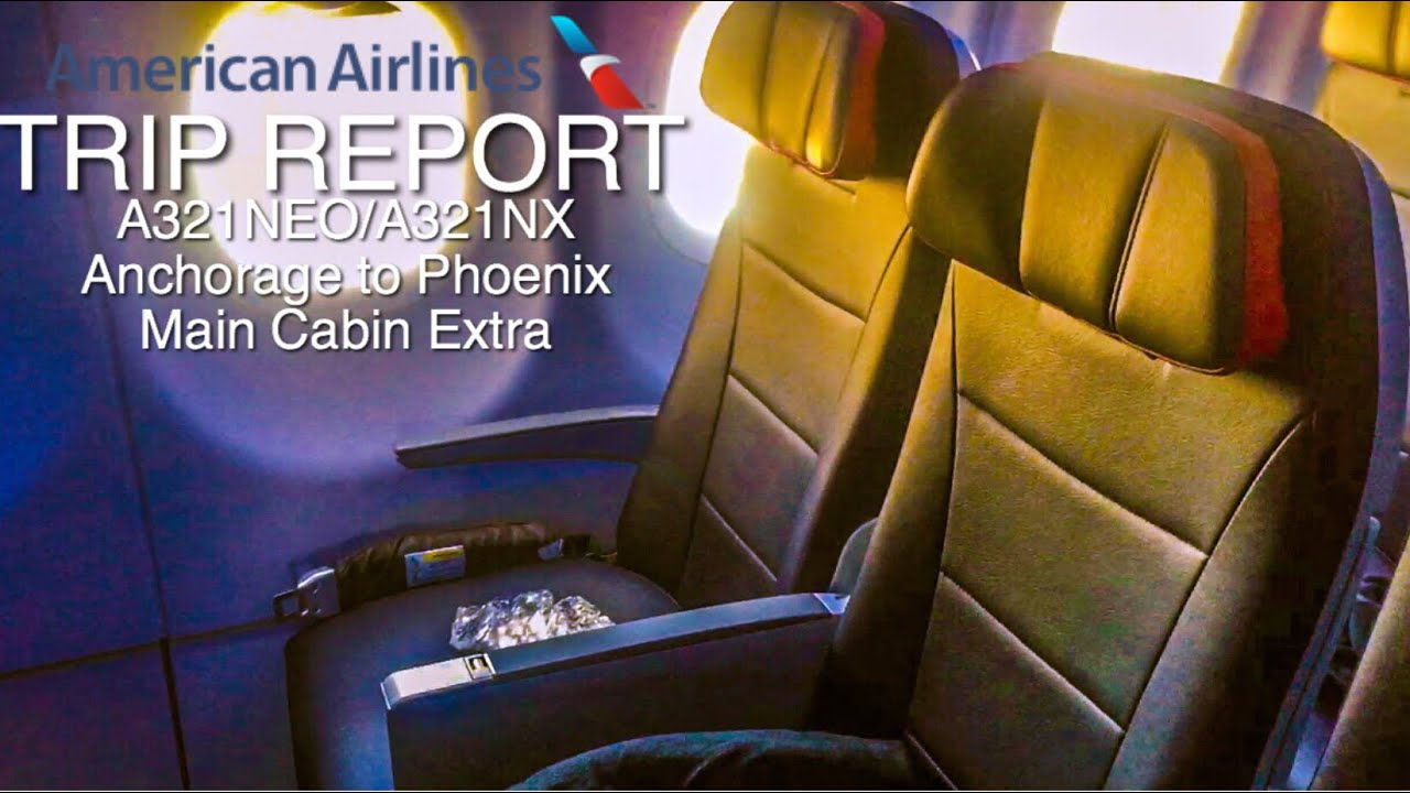 Review Of American Airlines Flight From Anchorage To Phoenix