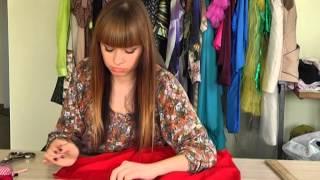 Модна справа з дизайнером Світланою Теренчук. Перетворюємо чоловічу сорочку на жіночу.(Як перетворити чоловічу сорочку на жіночу. www.terenchuk.com., 2014-09-10T14:47:51.000Z)