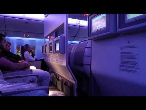 Despegue nocturno en Miami - Boeing 777 LATAM