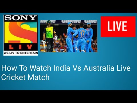 How To Watch Sony Liv Online |India Vs West Indies Live Cricket Match