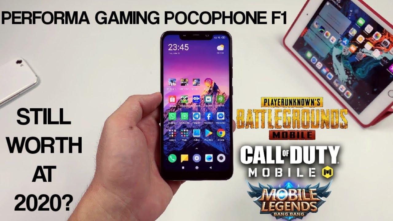 Performa Gaming Pocophone F1 di Tahun 2020 | PUBG COD Mobile Legends