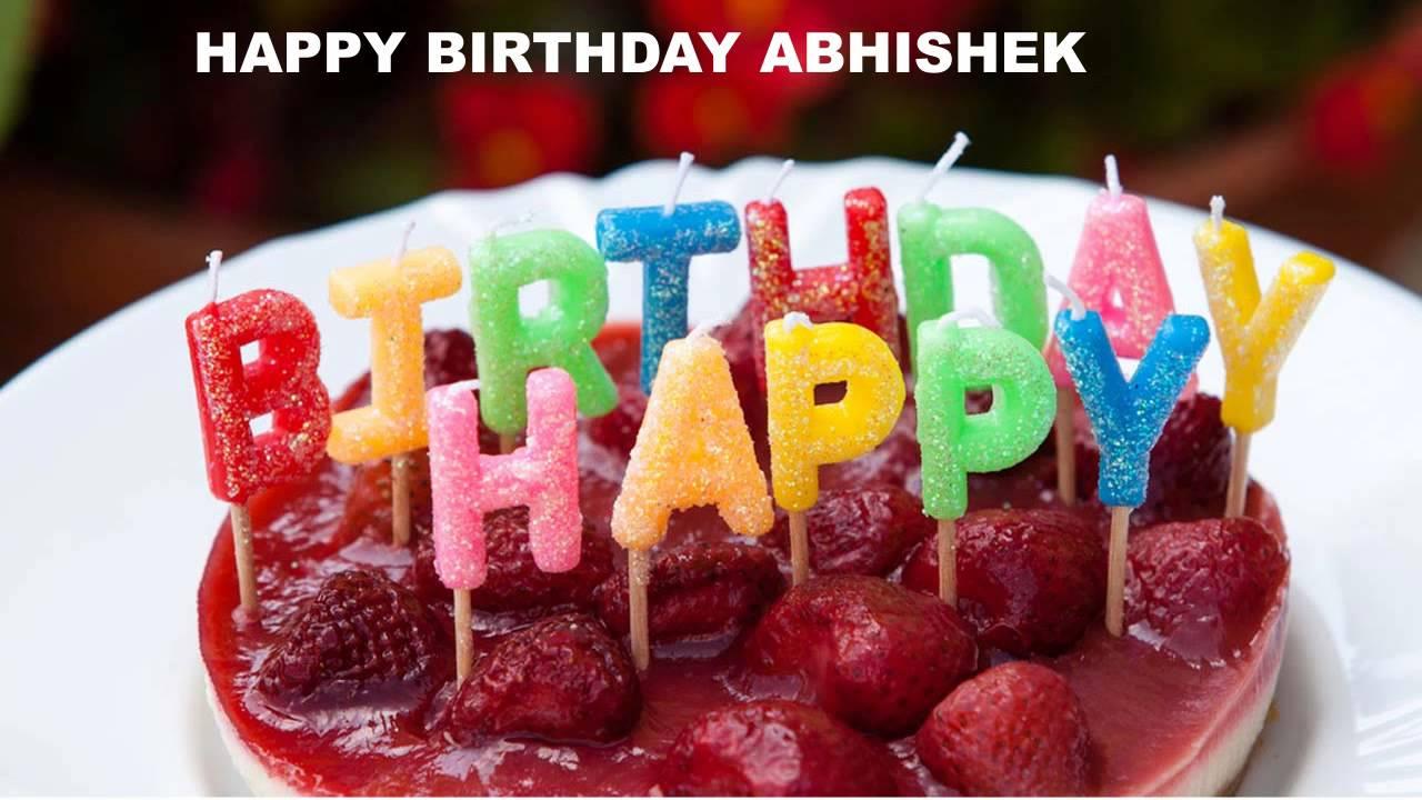Abhishek Cakes Happy Birthday Abhishek Youtube