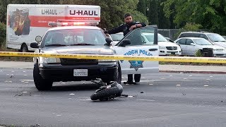 Fatal Crash: Motorcyclist  Dies After Crash in Antioch