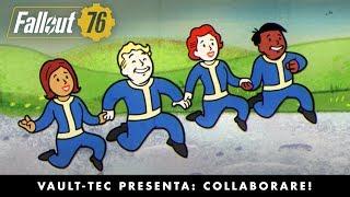 Fallout 76 – Vault-Tec presenta: Collaborare! Video su come giocare insieme agli altri