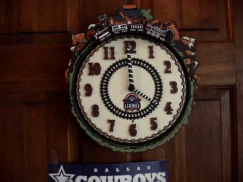 Lionel Train Clock You