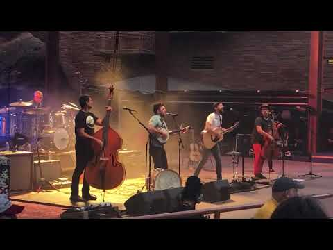 "Avett Brothers ""Thank God I'm a Country Boy"" John Denver, Red Rocks, 7118, night 3"