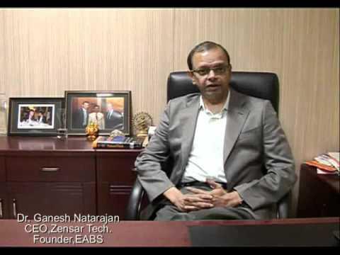 Dr. Ganesh Natarajan (CEO, Zensar Technologies) speaks about Europe Asia Business School (EABS)