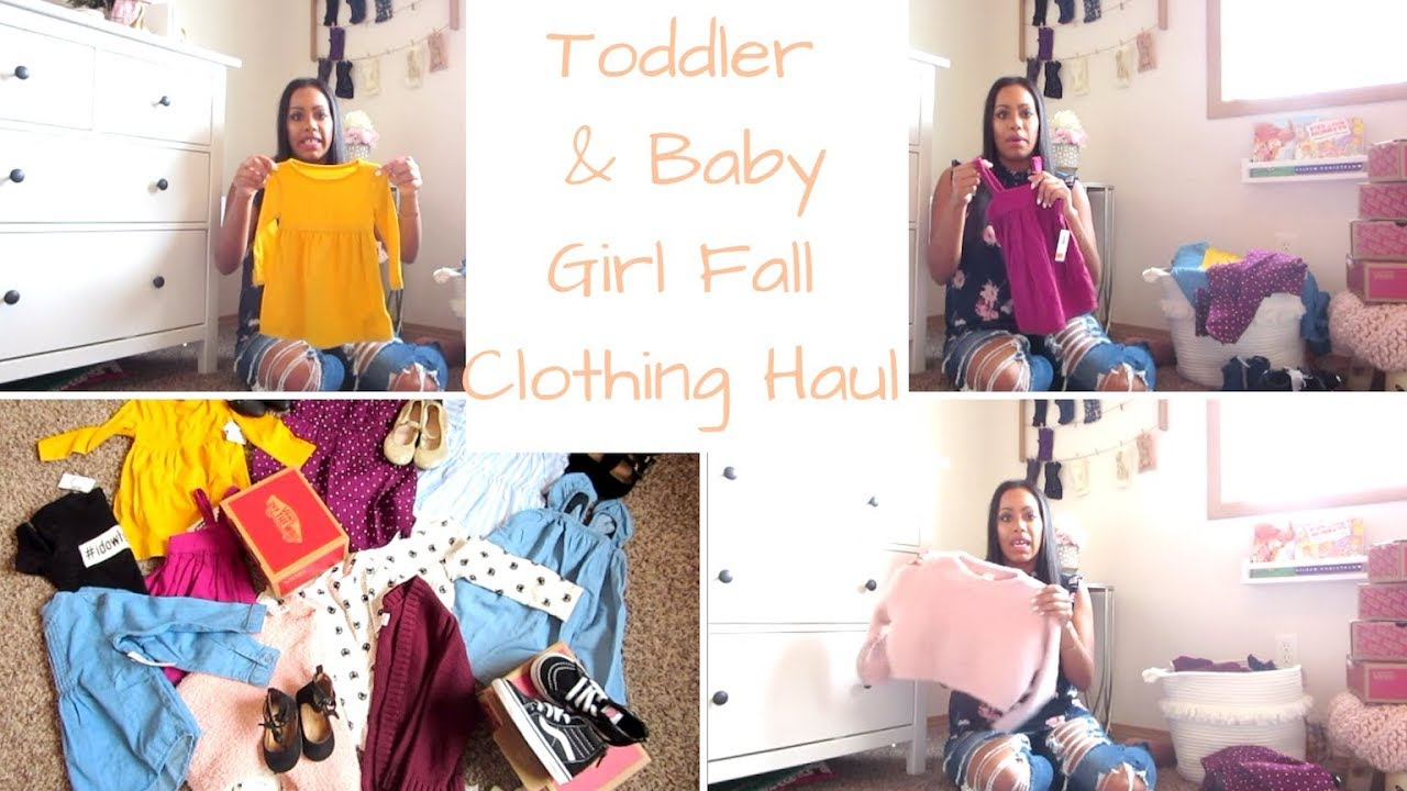 a6e887cc0083 FALL TODDLER AND BABY GIRL CLOTHING HAUL / OLD NAVY / NORDSTROM / VANS /  HUGE CLOTHING HAUL