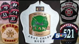 Retired firefighter keeps busy with leather creations