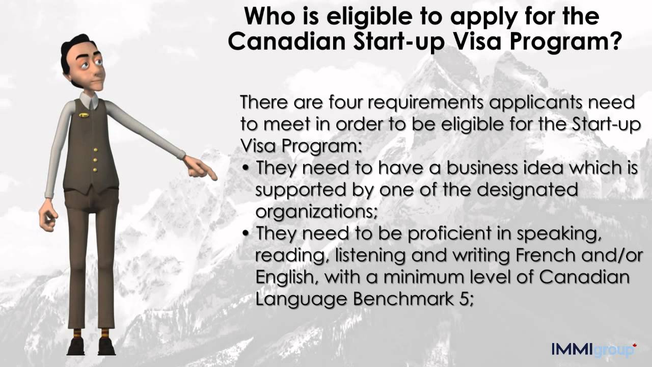 Who Is Eligible To Apply For The Canadian Start Up Visa Program Youtube