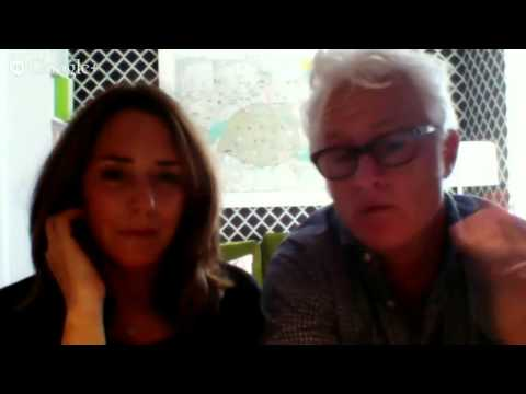 John Slattery & Talia Balsam 2014 interview about 'Mad Men' and Emmy Awards