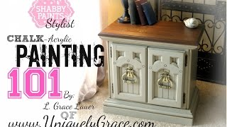 How to paint with Shabby Paints Chalk-Acrylic Paints