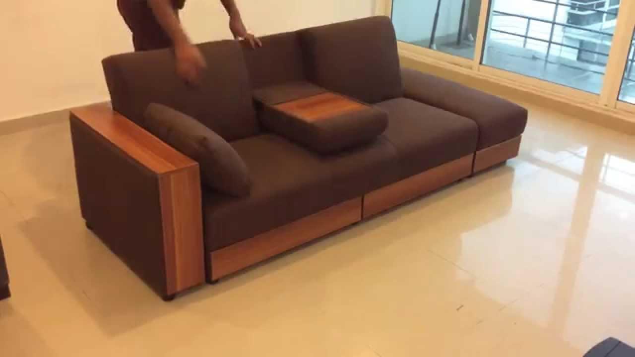 Sofa cama funcional Muebles Meet