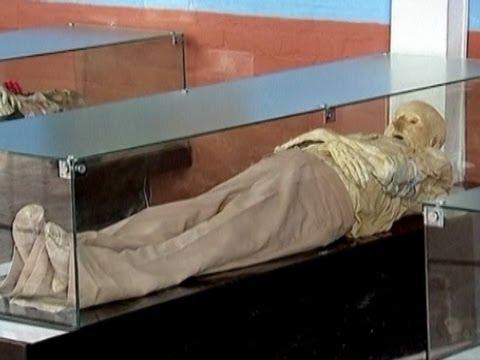 Natural Mummies Found in Cemetery