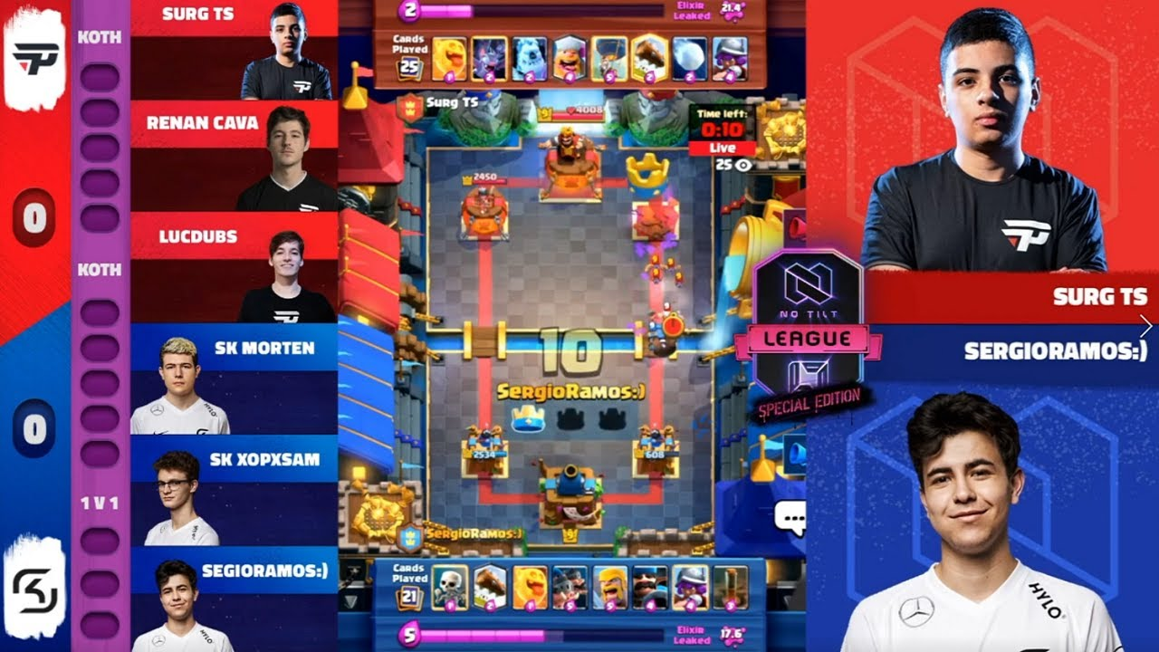 SK GAMING VS PAIN GAMING | NOTILT LEAGUE SPECIAL EDITION CLASH ROYALE