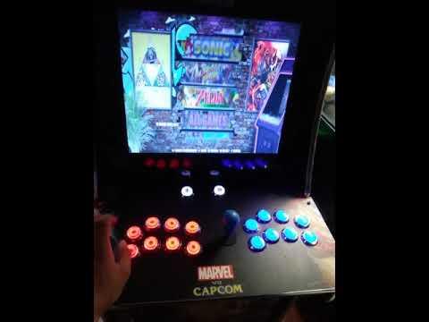 Arcade1up Marvel Vs Capcom Mod 2020 from ChuntiMouse