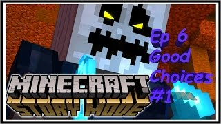 Minecraft: Story Mode Episode 6 A Portal To Mystery: Part 1 Good/Funny Choices