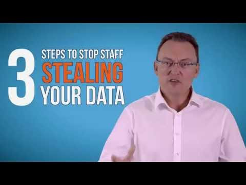 How to stop staff stealing your data! | IT Support Hertfordshire | Watford IT Support | Data Loss