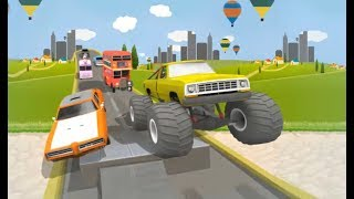 UPHILL CLIMB RACING GAME LEVEL 1-15 | CAR RACING GAMES