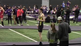 Ben Milligan University of Oregon high jumper at U. of Washington indoor preview 2017