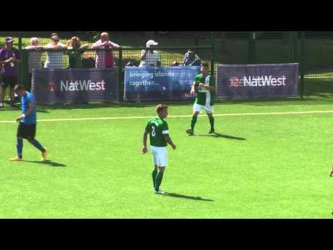 Guernsey 2-1 Menorca (AET) - Island Games 2015 - Semi Final