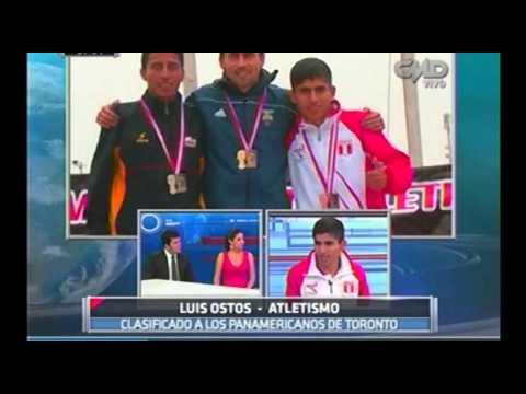 Central Deportiva: Luis Ostos batió el récord nacional de los diez mil metros