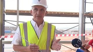 Кровля нового здания аэропорта Симферополь готова на 100%