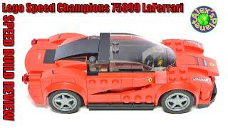 Lego Speed Champions 75899 Ferrari LaFerrari Review, Unboxing & Speed Build | ALEXSPLANET