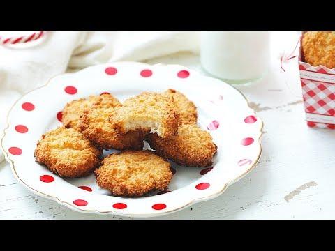 [ENG] Moroccan Coconut Macaroons / حلوى جوز الهند المغربية - CookingWithAlia - Episode 593