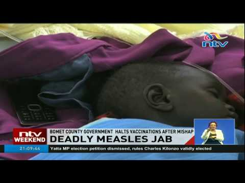 One child dies after receiving measles jab