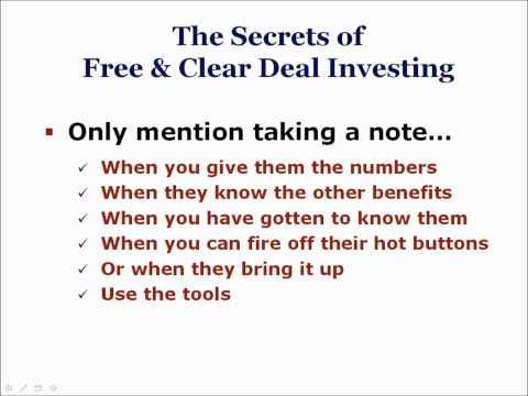 FAQ #6: What is Owner Financing in Real Estate Investing - Sellers Want All Cash