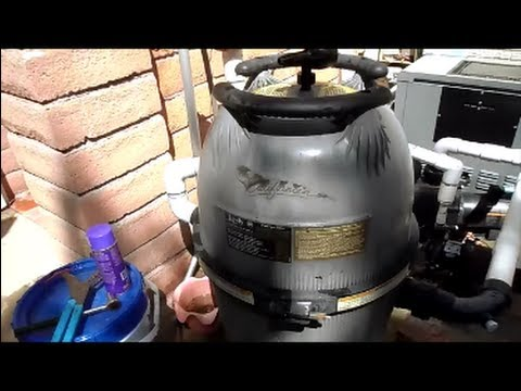 cleaning a jandy zodiac cartridge filter youtube. Black Bedroom Furniture Sets. Home Design Ideas