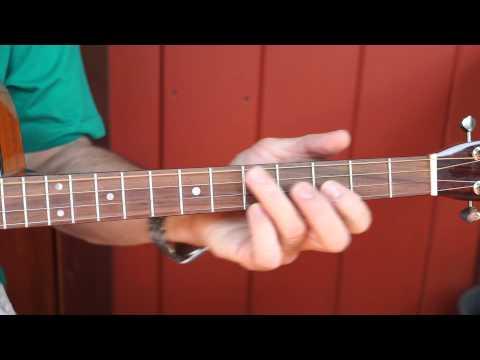 Basic Chord Patterns for Tenor Guitar (tuned CGDA) Key of G