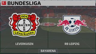 Video Gol Pertandingan Bayer Leverkusen vs RB leipzig