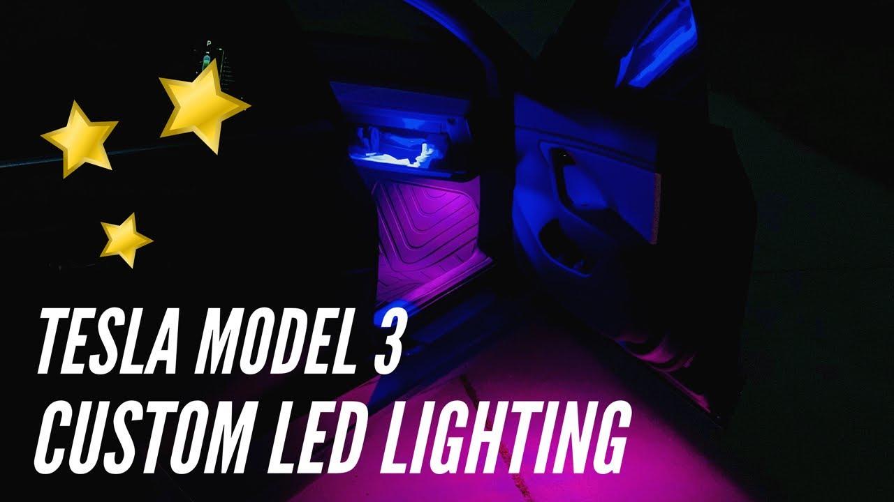 CUSTOMIZE Your Tesla! | Tesla Model 3 | LED Lighting Kit
