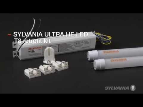 hqdefault ultra he led t8 retrofit kit youtube